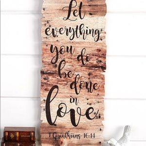 Farmhouse Scripture Wall Art